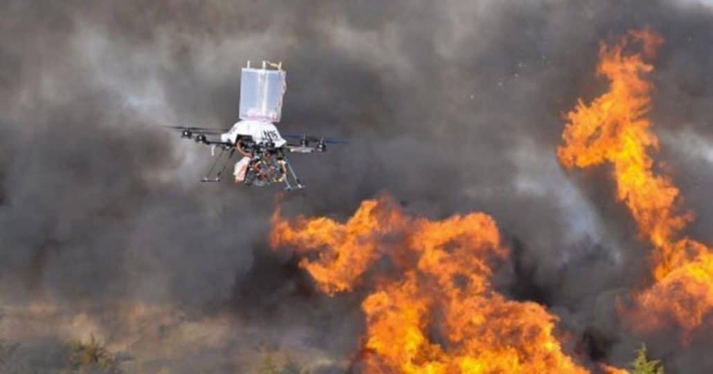 Drone Firefighter