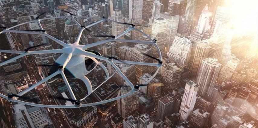 Taksi Udara dan 5 Penggunaan Drone dalam Industri 4.0