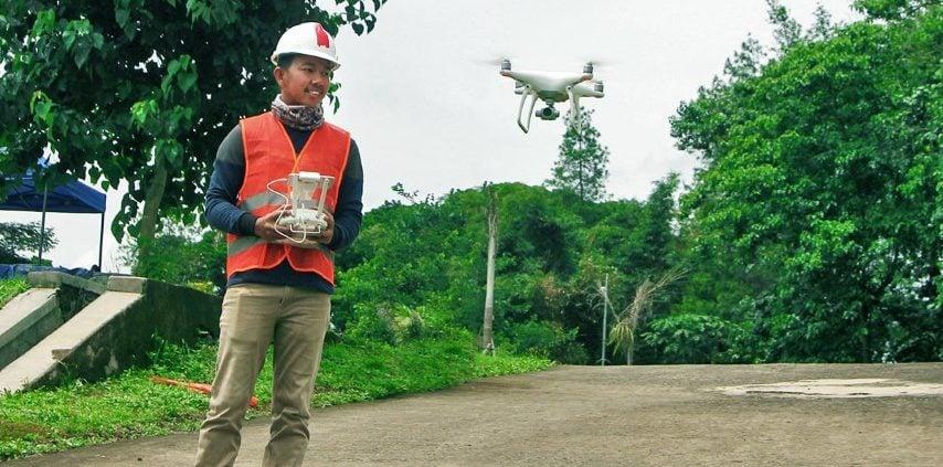 Optimalkan Proyek Survey Pemetaan dengan Drone