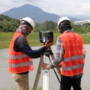 proses akusisi data laser scan