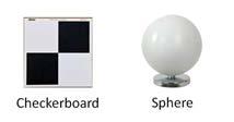 target dan sphere untuk akusisi data